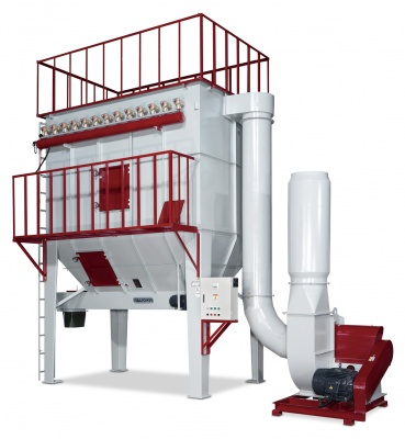 Jet Pulse Dust Collector