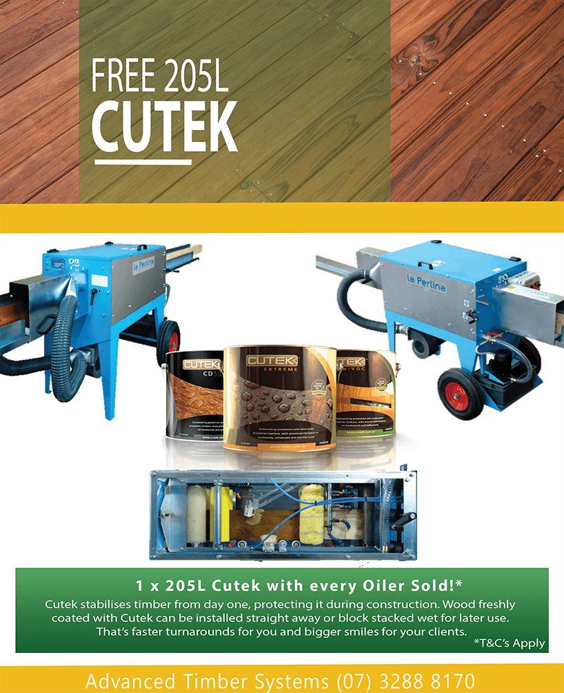 205L Cutek Machine Coat Promo